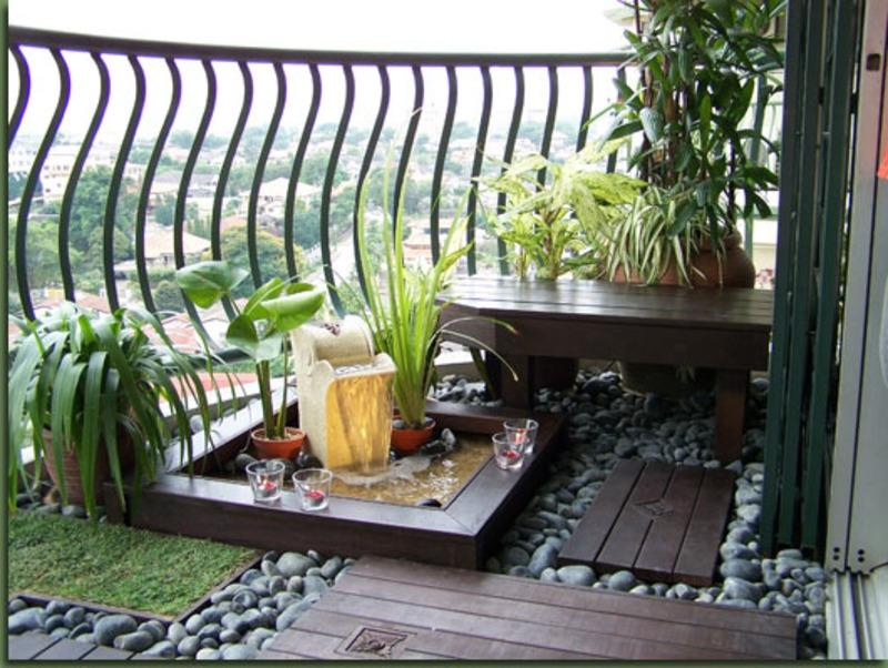 balcony garden ideas pictures 15 The Best Balcony Decorating...