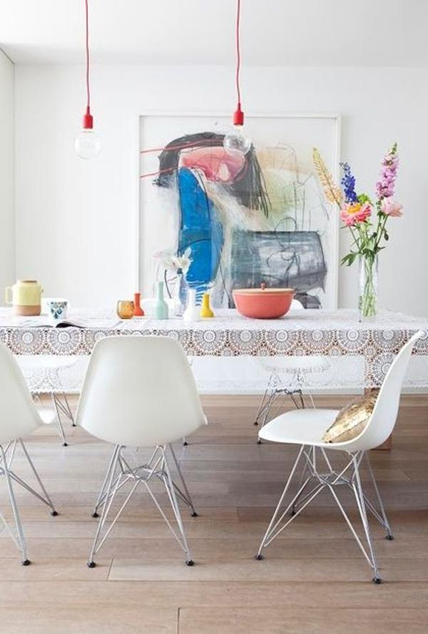 beautiful-design-interior-of-dining-room-with-table-. Interior...
