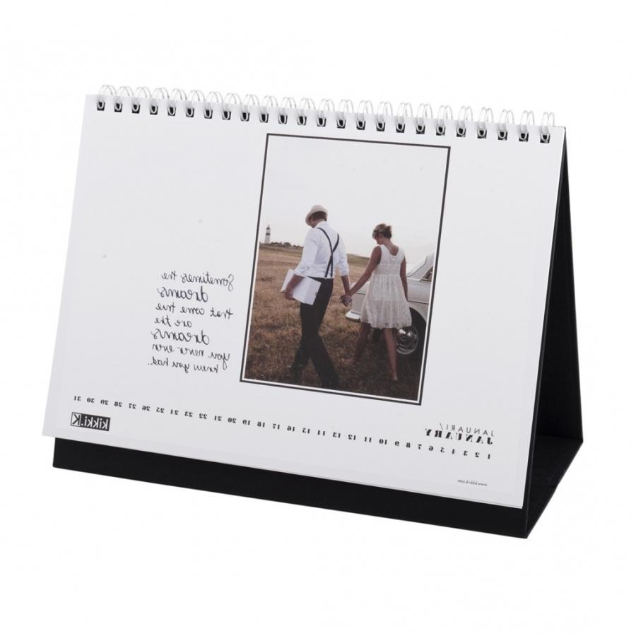 Design Your Own Calendar : Create desk calendar photos