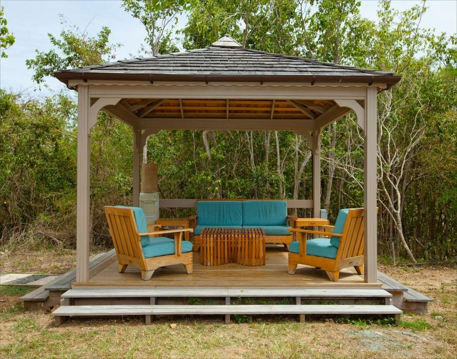 Rectangular Gazebo Photos