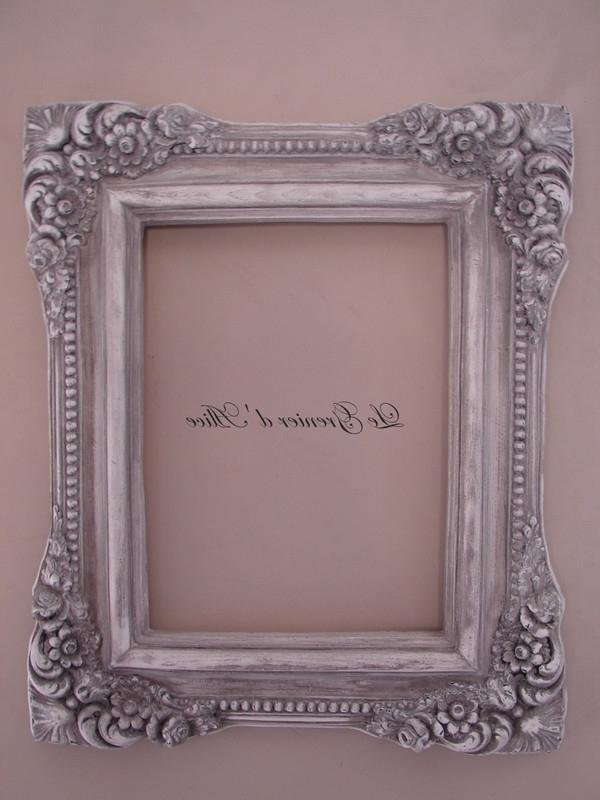Decoration cadre photo for Decoration shabby romantique