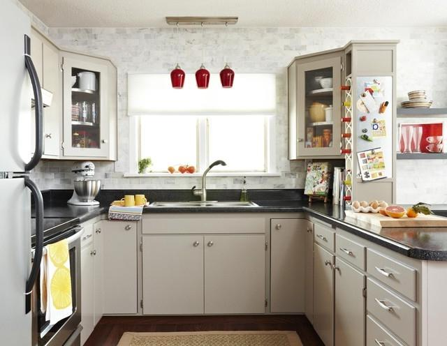 Remodel kitchen on a budget photos for Kitchen remodels on a budget photos
