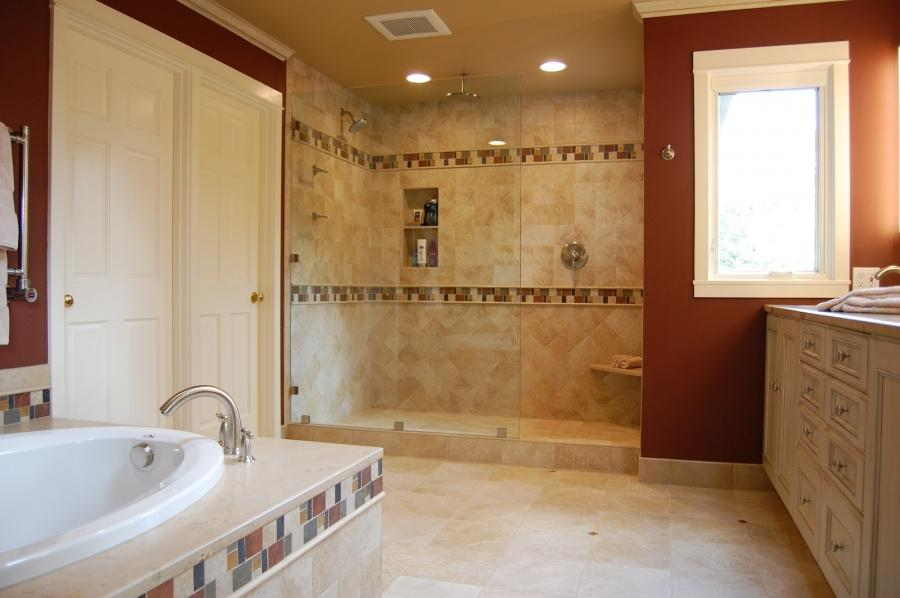 Photo Master Bathroom Remodeling Design