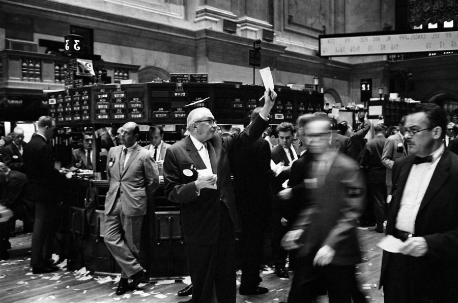 London Stock Exchange Trading Floor Photos