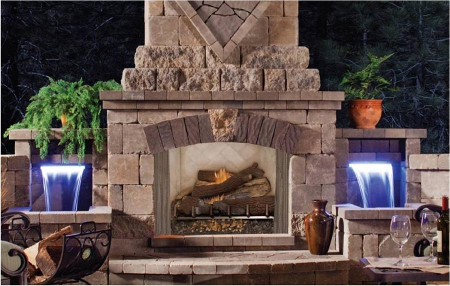 Photos Outdoor Fireplaces