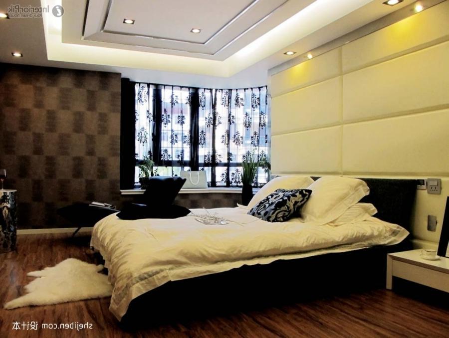 Master bedroom modern design photos Modern glamour master bedroom