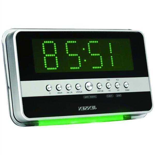 jensen digital photo frame alarm clock radio. Black Bedroom Furniture Sets. Home Design Ideas