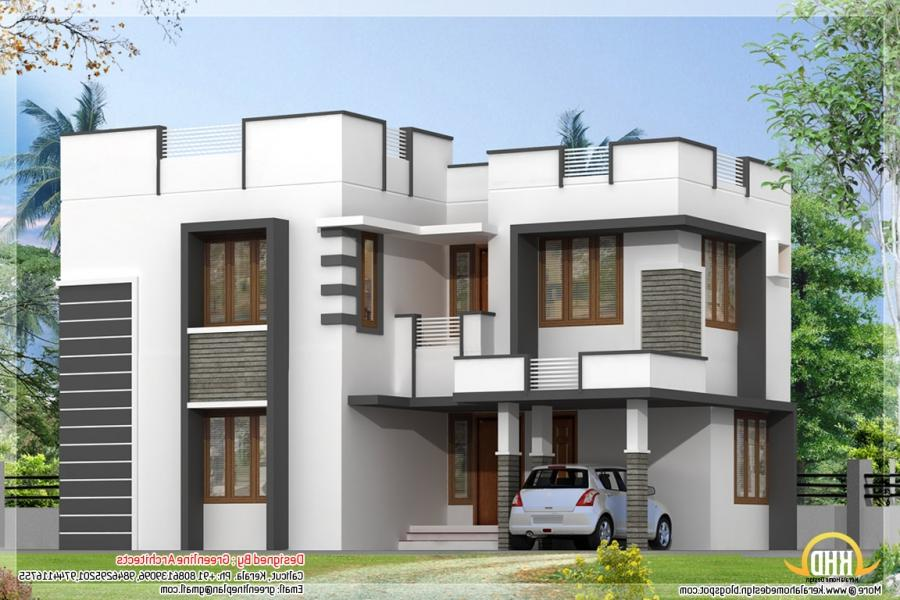 Simple Modern Home Design With 3 Bedroom