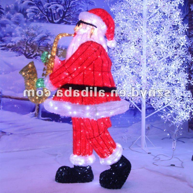 Decoration de noel exterieur photo for Pere noel decoration exterieur