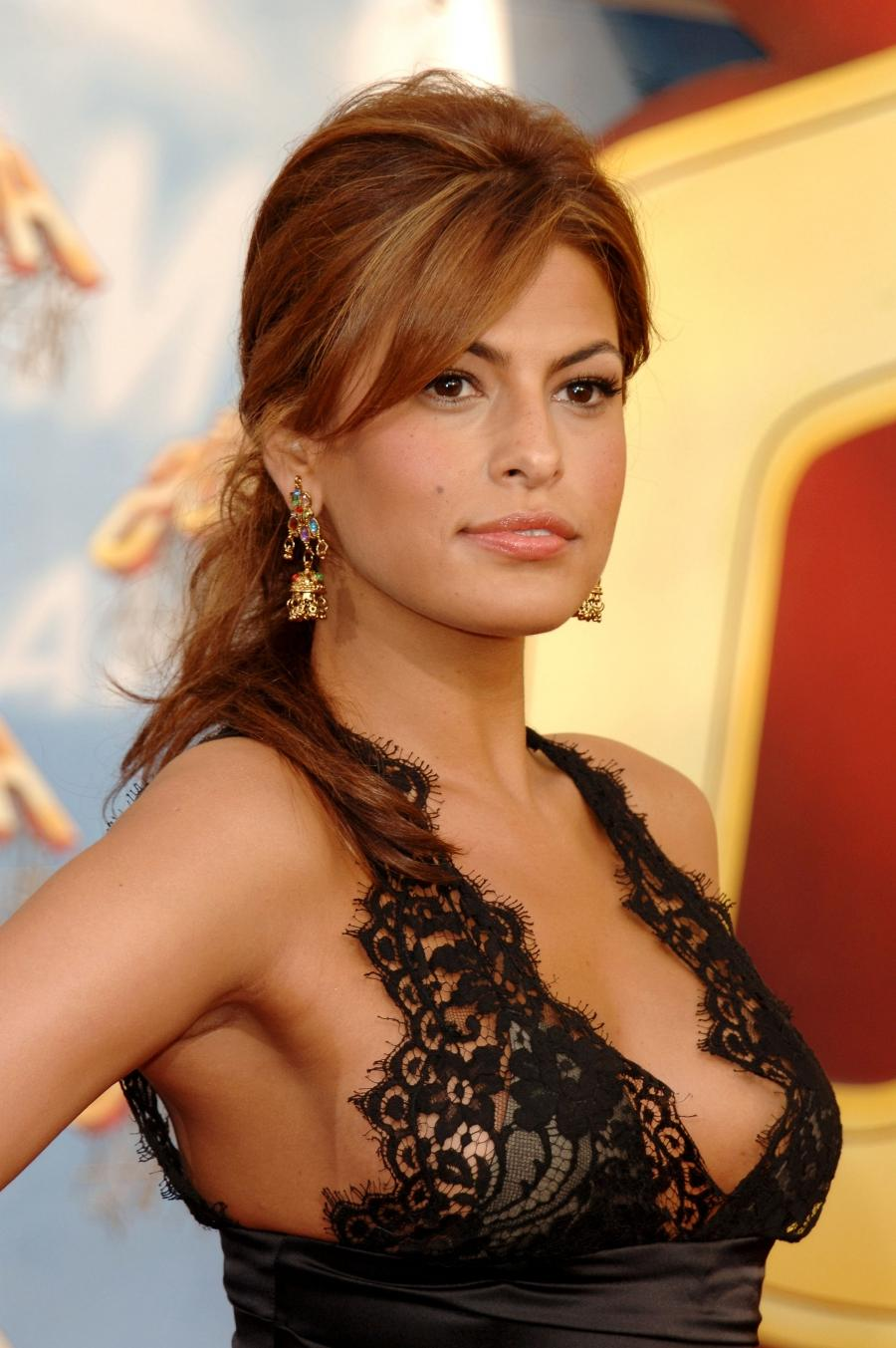 Eva Mendes Wardrobe Malfunction Photos