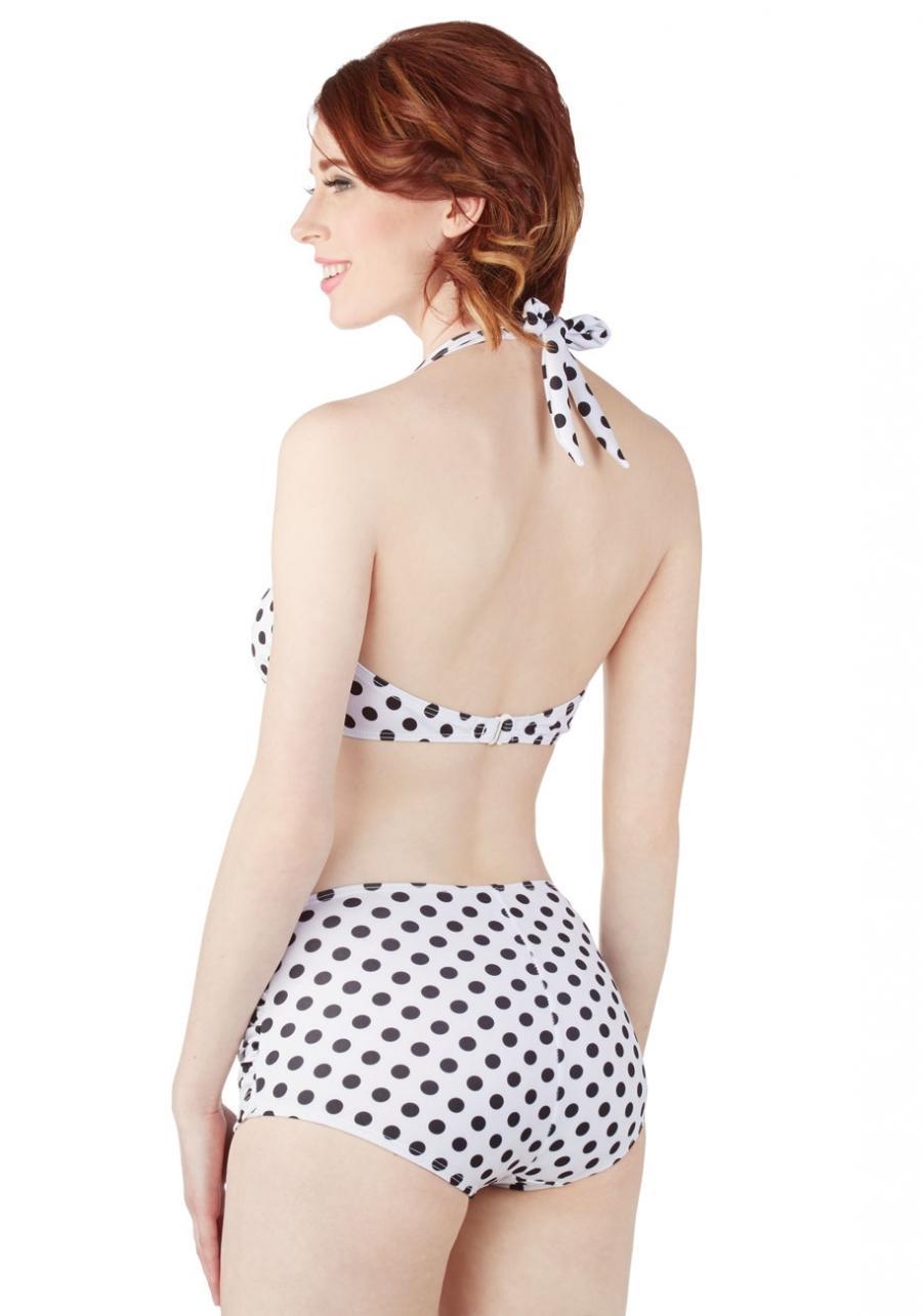 Esther Williams Beach Blanket Bingo Two Piece in White :... source ...