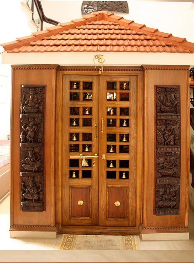 Pooja room door designs photos - Pooja room door designs in kerala ...