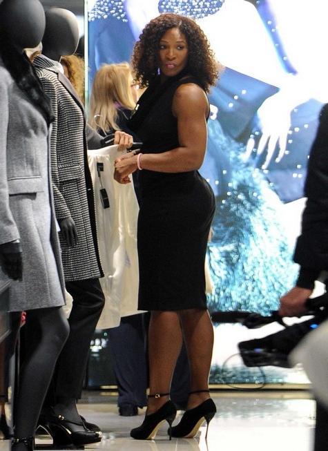 Serena Williams Wardrobe Malfunction Photos Pictures