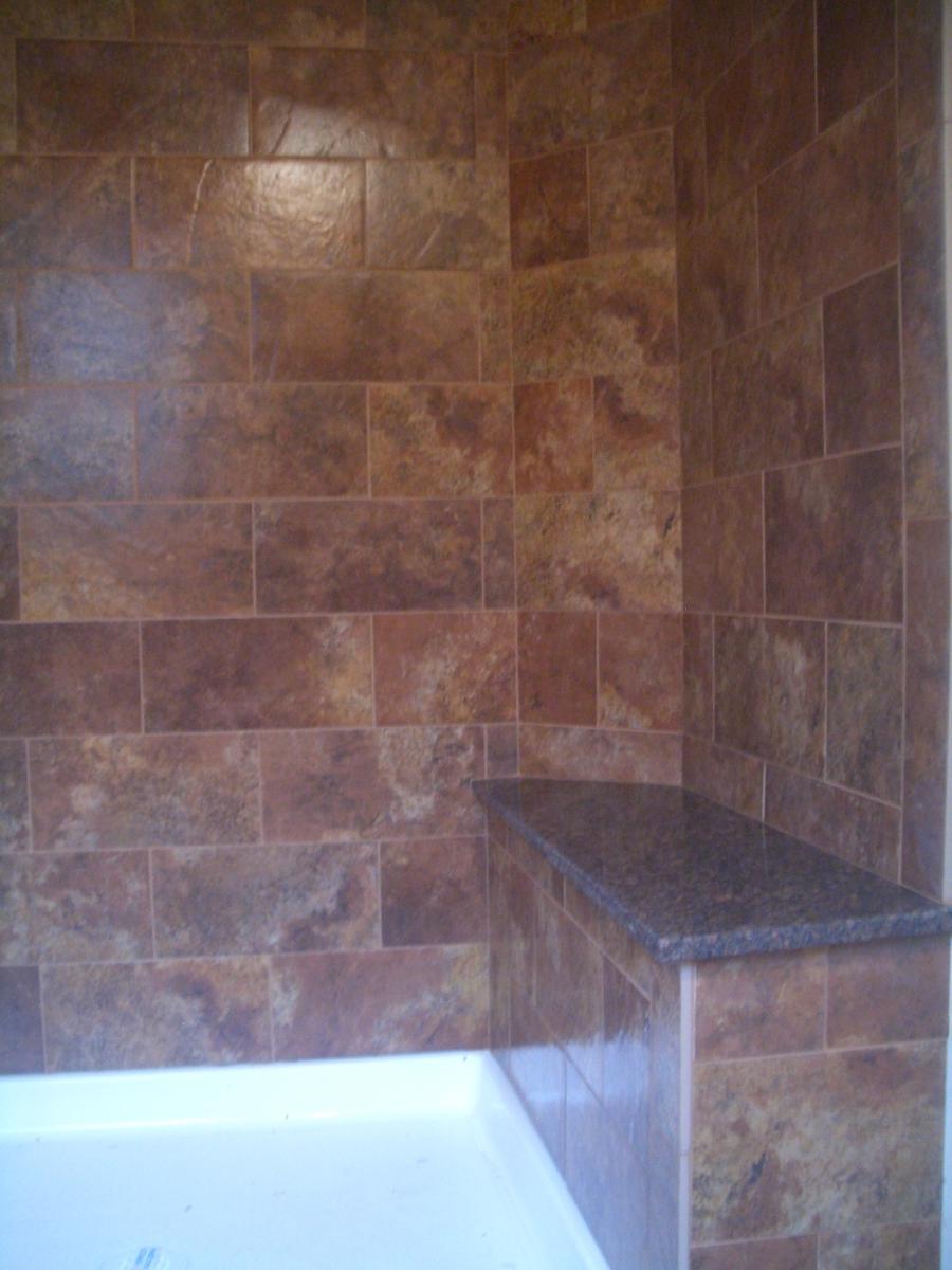 Kitchen granite countertops the artistic works - Granite Tile Shower Photos