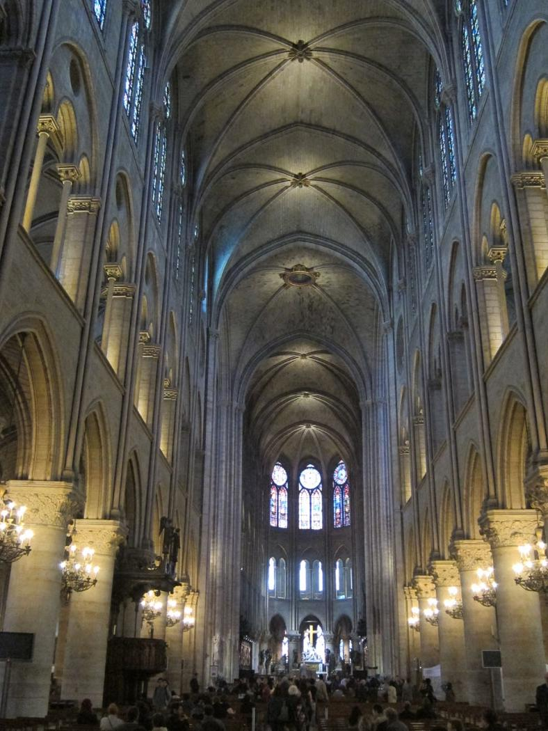 Interior Photos Notre Dame Paris