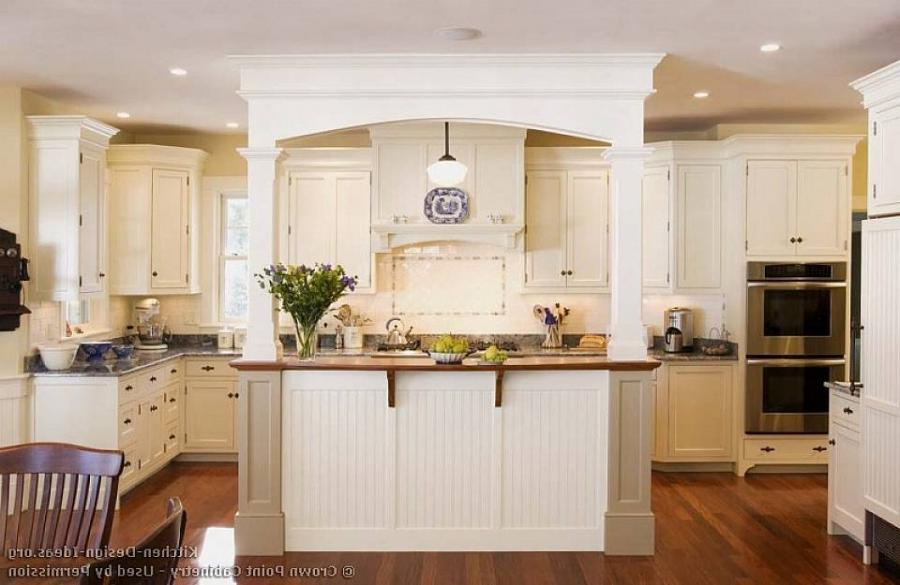Kitchens With White Cabinets Antique White Kitchen Cabinets...