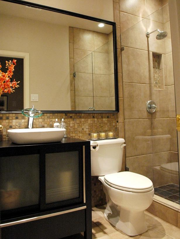Bathroom design photo for Hgtv bathroom ideas on a budget