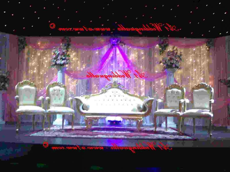 Download Stage Decoration Wedding Stage Backdrops Wallpaper For...