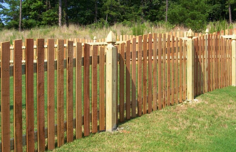 Picket Fence Front Yard Photo Landscape Design