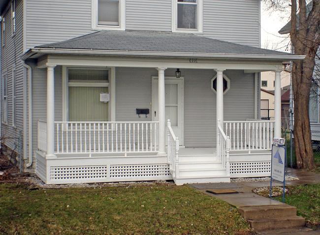 A front porch addition adds curb appeal to your home. St. Paul...