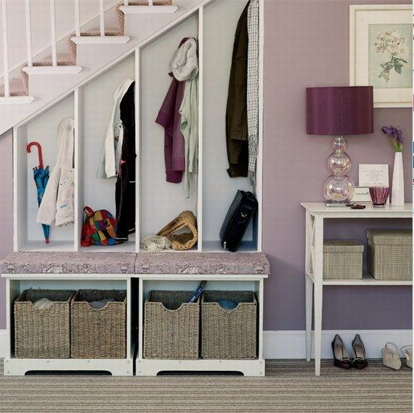 ... Hallway Storage Design Ideas ...