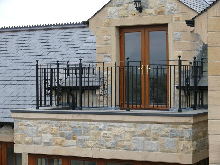 The main purpose of using railings in balconies is to make sure...