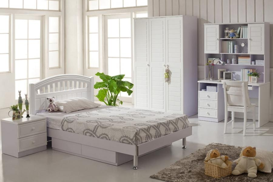 children bedrooms white large image ...
