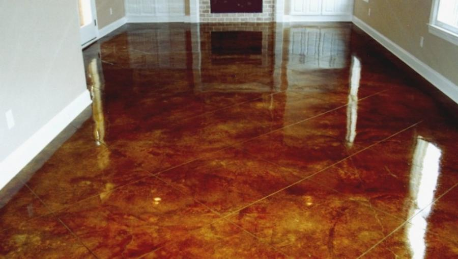 Sealed concrete floors photos for How to clean sealed concrete floors
