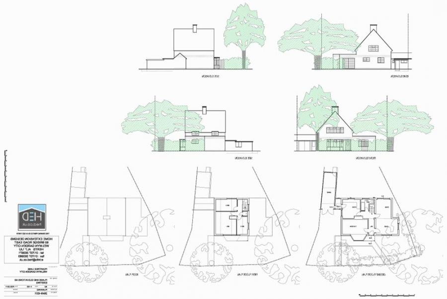 Photos welwyn garden city for Home extension design welwyn garden city