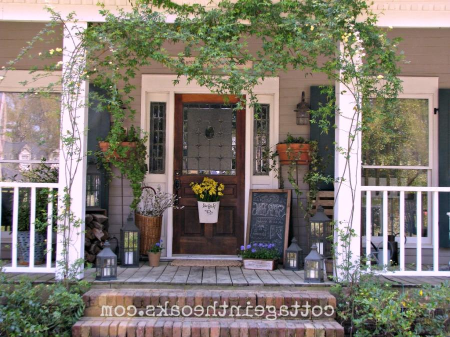 Front Porch Decorating Ideas Front Porch Ideas Cottage In The...