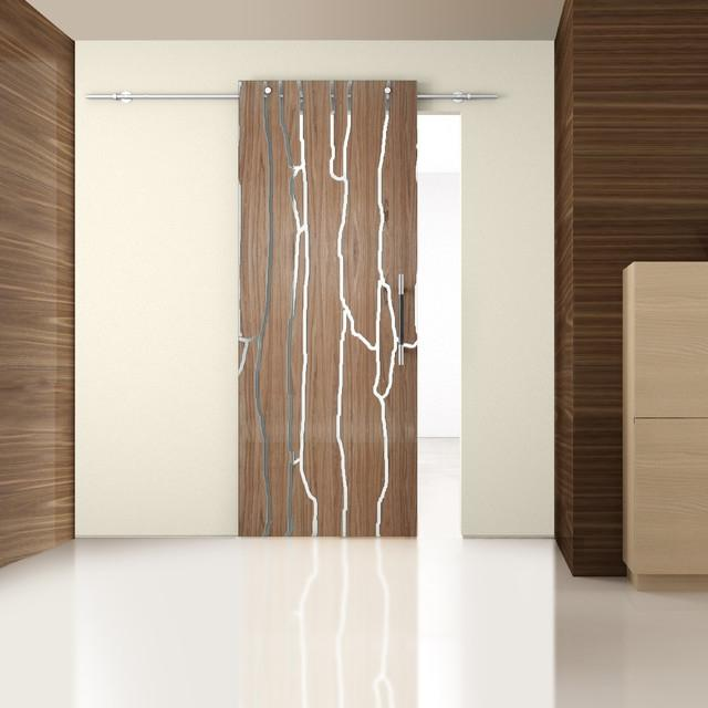 Laminated Wood modern-interior-doors