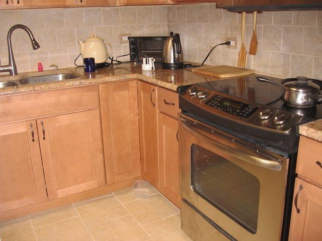 Maple Kitchen Cabinets Photos