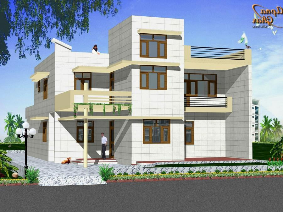 Front Elevation Of Residential Houses : Residential house front elevation photos
