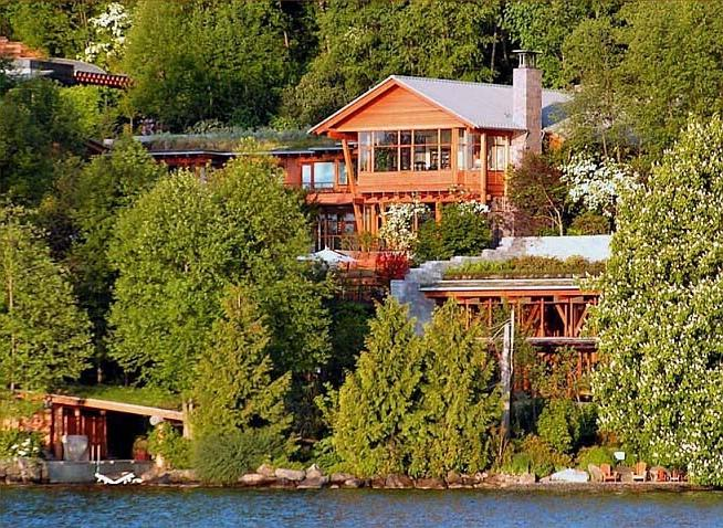bill gates house virtual tour photos