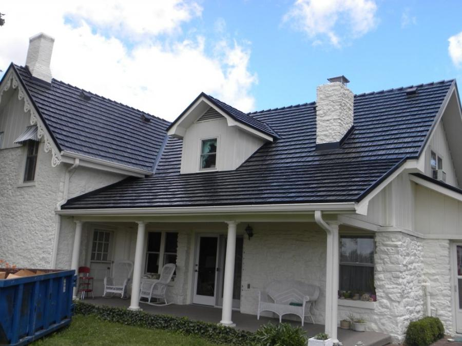 Residential Metal Roof Photos