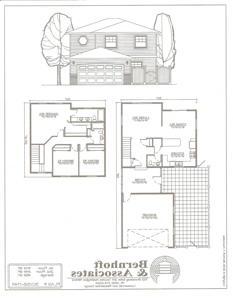 Single family house plans photos for Single family home blueprints