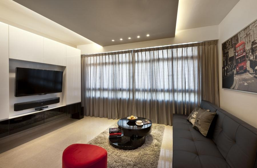 Singapore hdb interior design photo