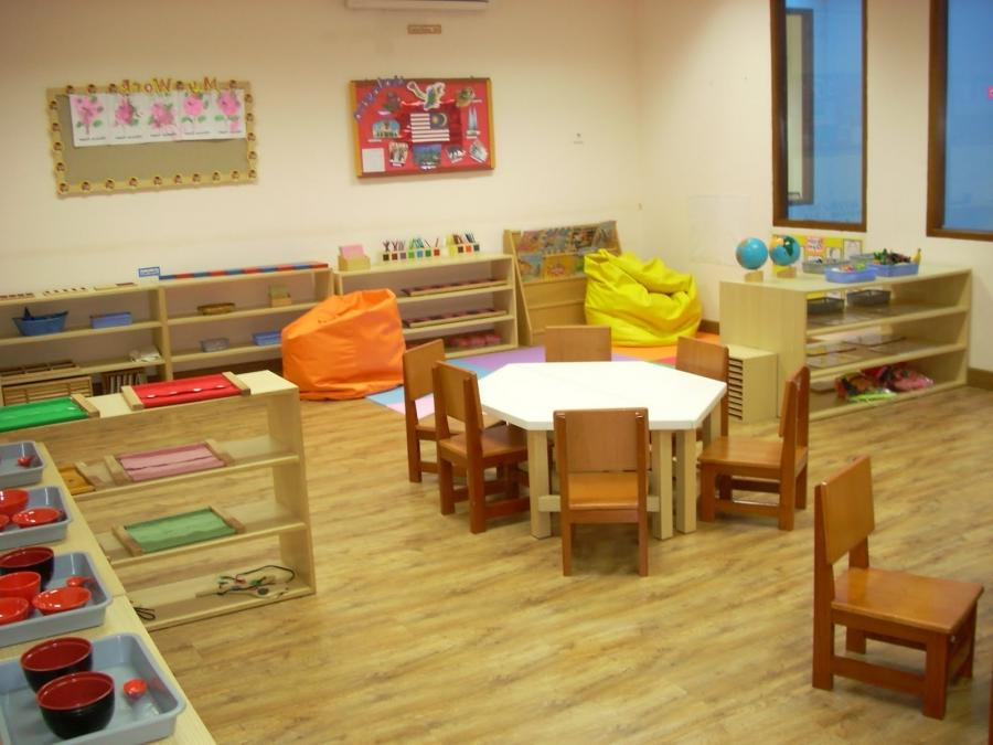 Modern Montessori Classroom ~ Montessori classroom photo