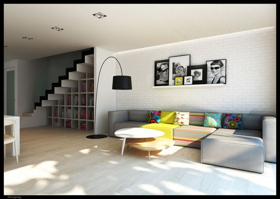 Modern home interior designs photos - Stylish penthouse interior design introducing the charming minimalism ...