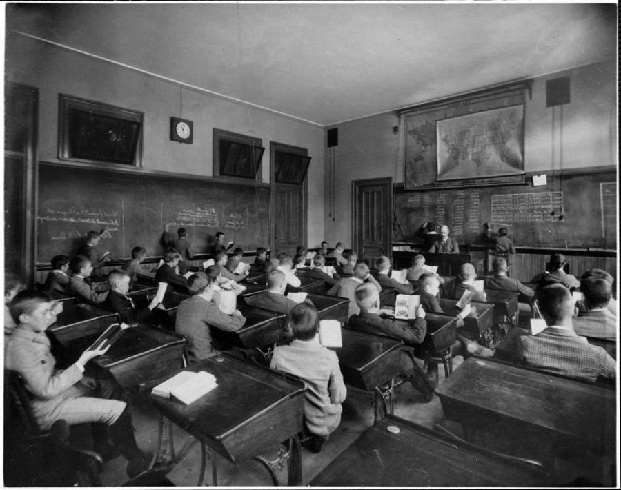 19th Century Classroom Photo