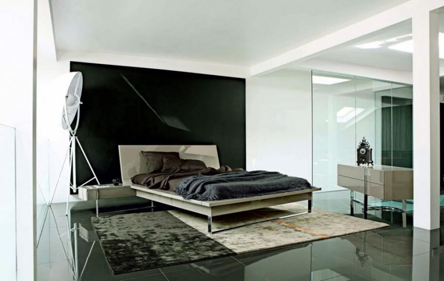 White Black Bedroom Decoration listed in: