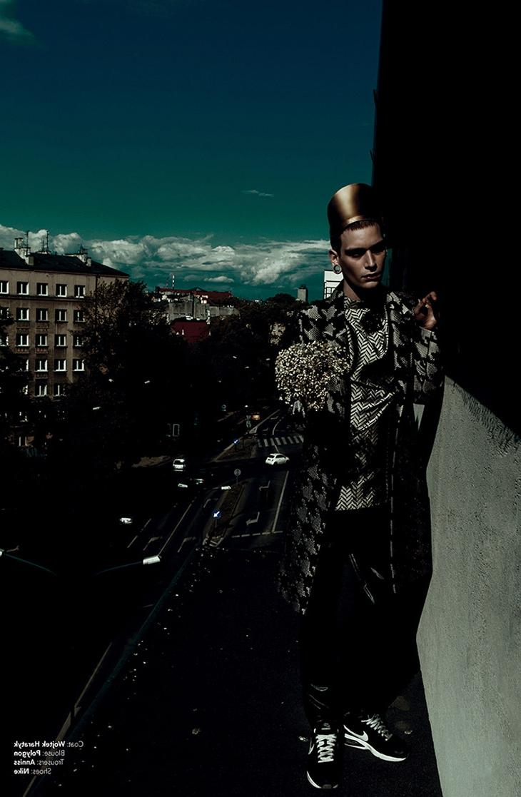 Fool On The Roof, photography by KOTY 2 for Kaltblut Magazine