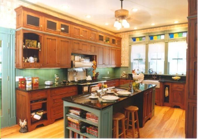 Victorian Kitchen Photos