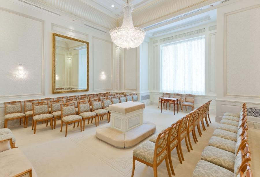 The most important room in the Temple: the Sealing Room.