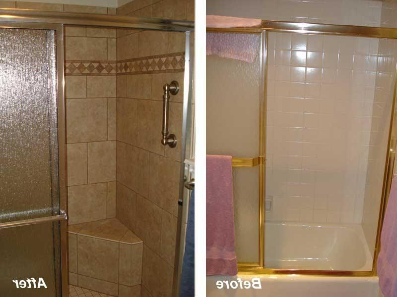 remodeled bathroom photos before and after