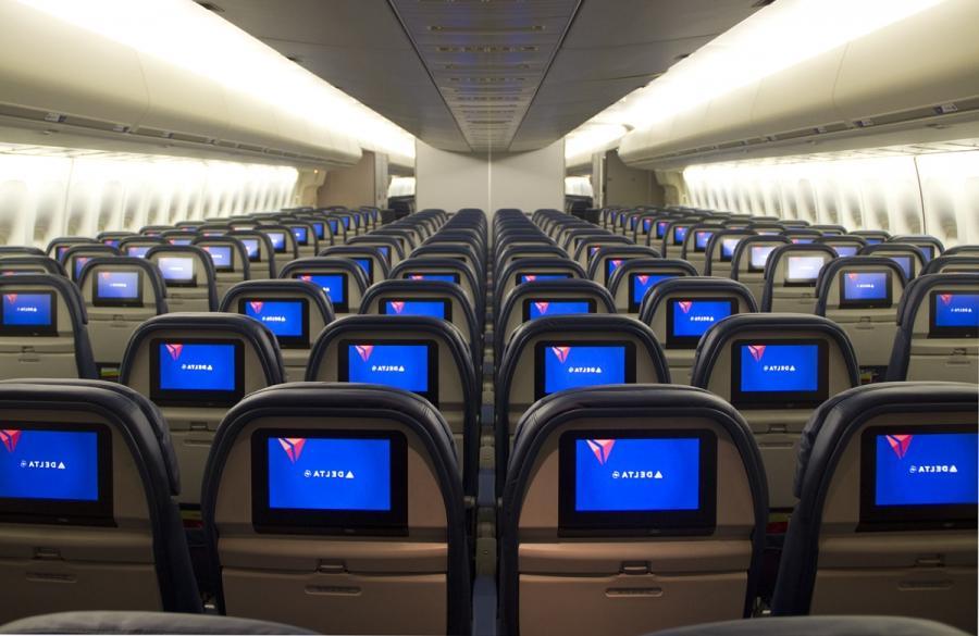Virgin 747 interior photos