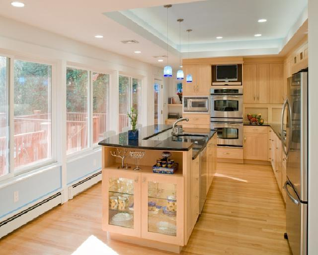 Ranch House kitchen remodel in Newton by Feinmann Design|Build