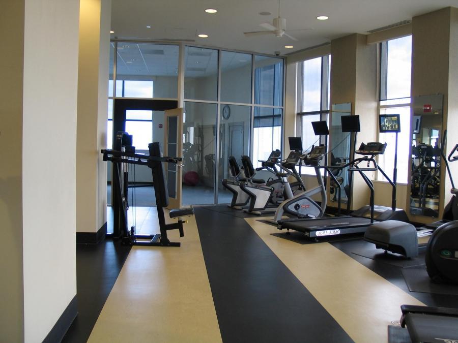 Workout room photos