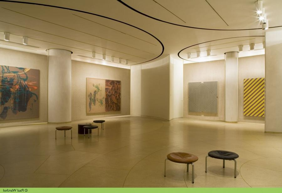 Tours of the Painting Gallery are featured on all six Glass House...