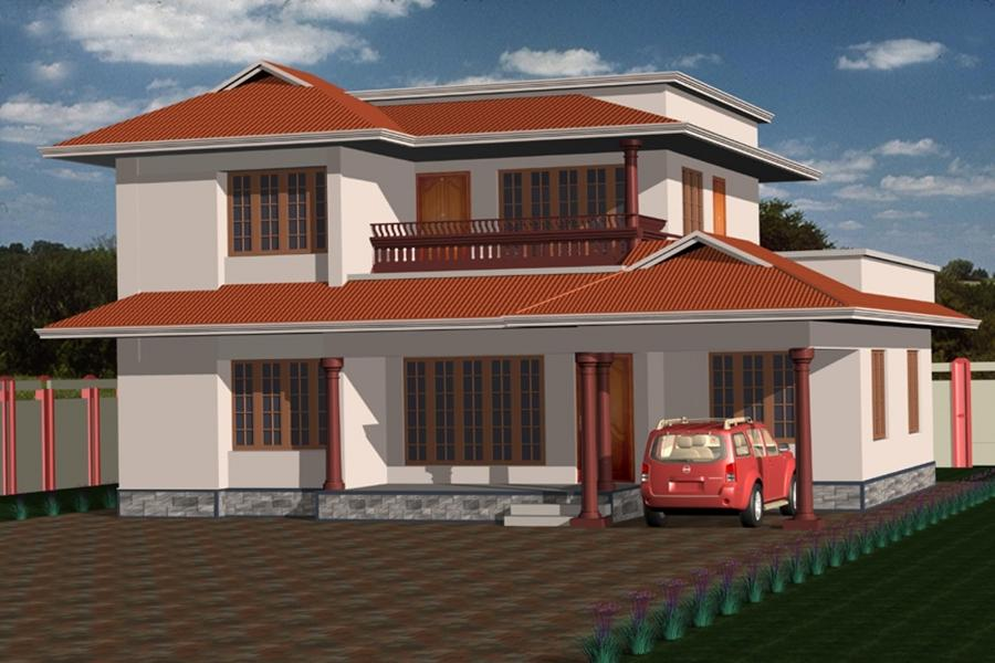 Front elevation of house in kerala photos for Indian house front view